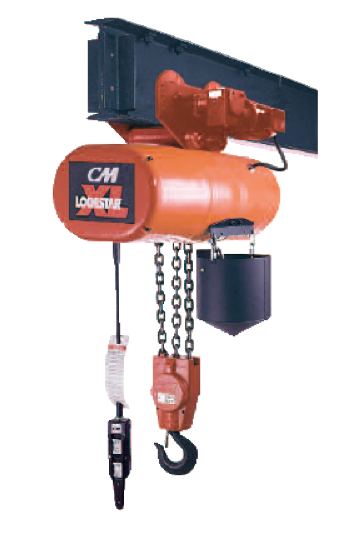 CM Lodestar XL Electric Chain Hoist - 7-1/2 Ton