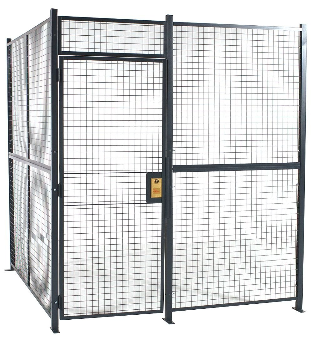 4-Sided Welded Wire Security Cage