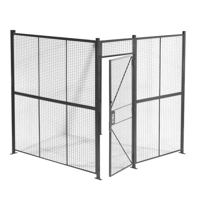 4-Sided Woven Wire Security Cage