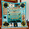 To Our Daughter Senior 2020, Congratulations Quilt Blanket