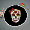 SKULL & ROSE BEACH BLANKET - Laizis