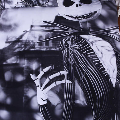 Nightmare Before Christmas 3D Bedding Set Skull Duvet Cover Sets-FREE SHIPPING - Laizis