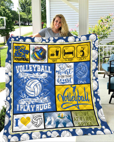 Volleyball Quilt Blanket