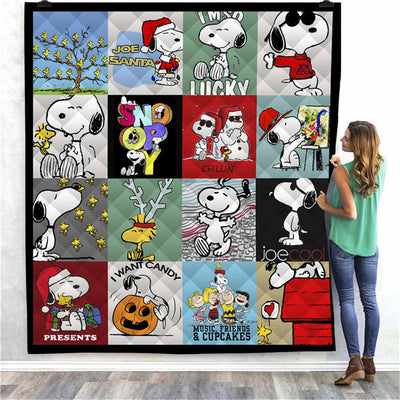 Snoopy Quilt Blanket