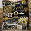 Boston Bruins Quilt Blanket