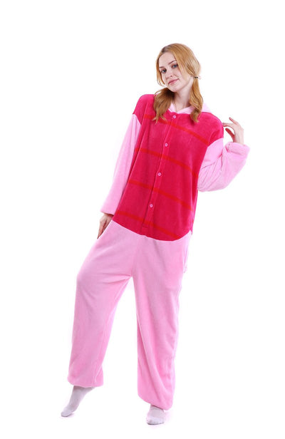 Winnie the Pooh Bear and Piglet Adult Pajamas Kigurumi Cosplay Costume Animal Winter Onesie - Laizis