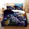 3D American football Duvet Cover Bedding Set