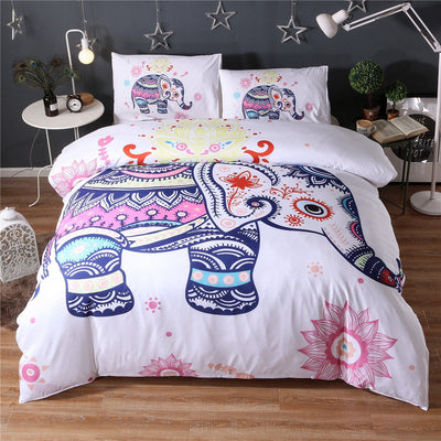Elephant Bedding Duvet Cover Set