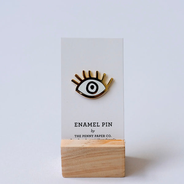Eye Enamel Pins