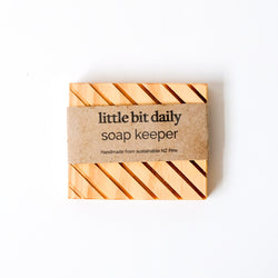Wooden Soap Keeper - Small