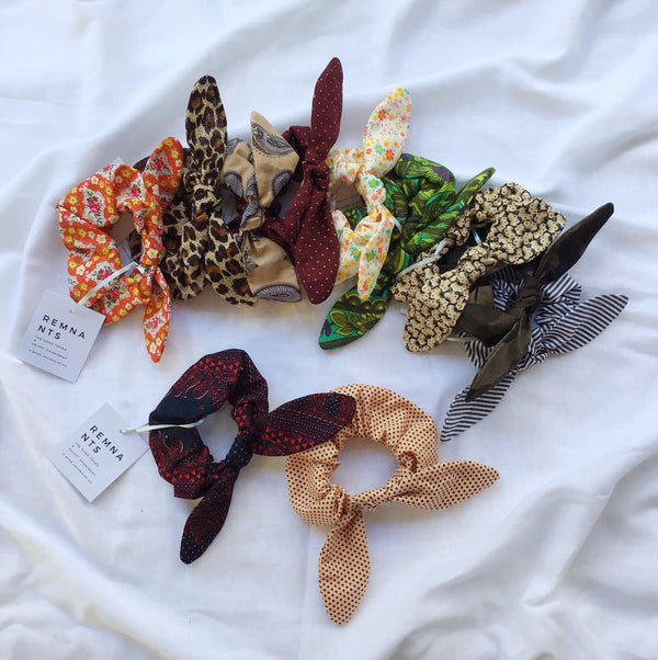 REMNANTS - Bow Scrunchies