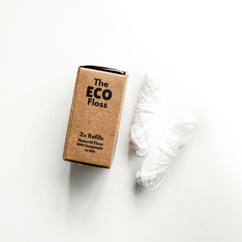 The Eco Floss - Compostable Dental Floss Refills 2PK