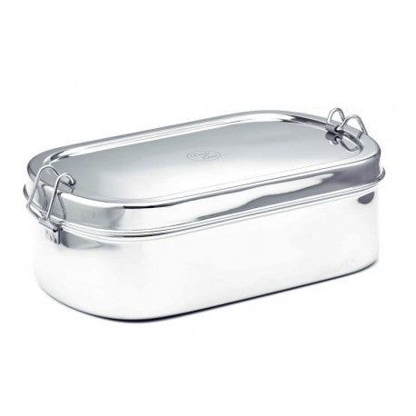Stainless Steel Oval Lunchbox - Large