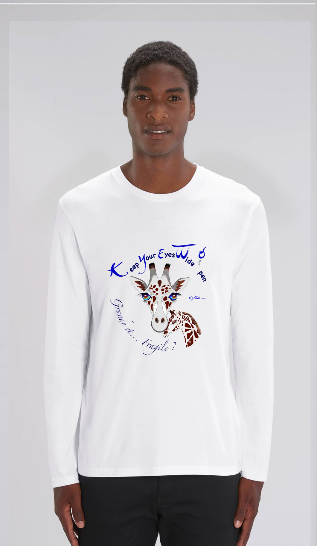 TEE-SHIRT manches longues HOMME - GIRAFE