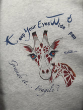 Charger l'image dans la galerie, Pull-Sweat poches/capuche - GIRAFE