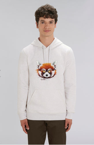Pull/SWEAT-SHIRT Poches/capuche Homme - PANDA ROUX - Kyewo