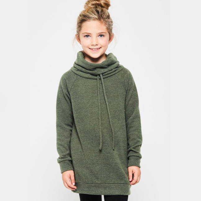 Cowl Neck Sweater | Girls