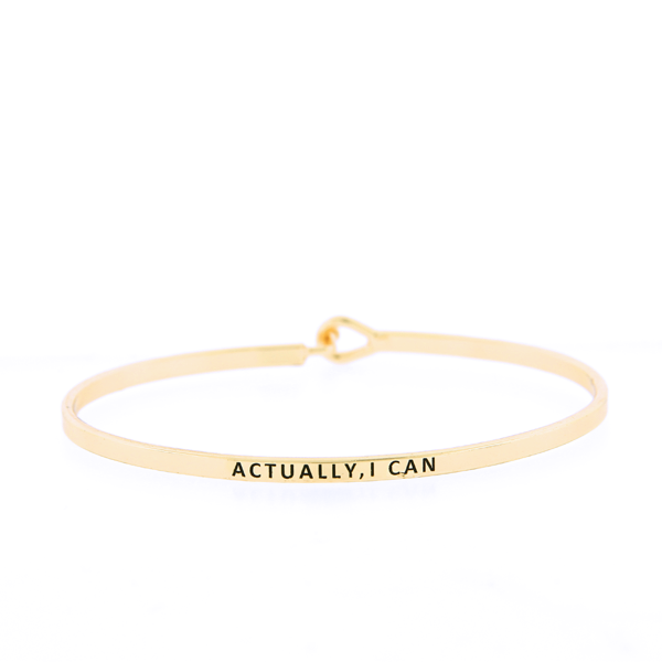 Actually, I Can Bangle