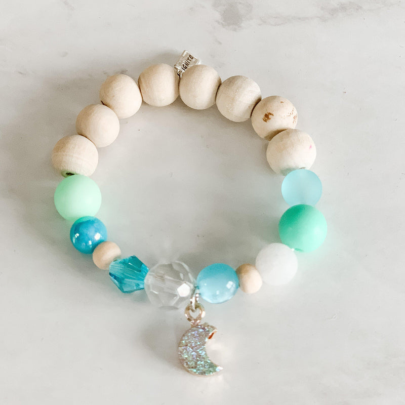 Bracelets for Girls - Sparkly Moon