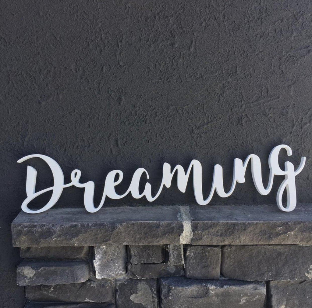 Dreaming Big - Custom Wall Decor