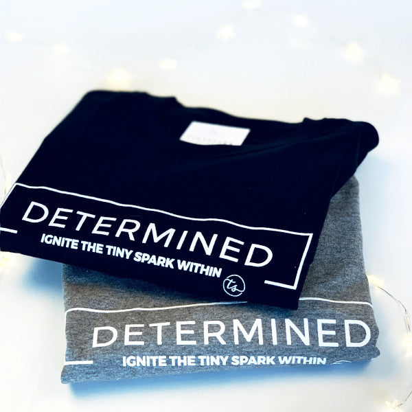 DETERMINED | Black