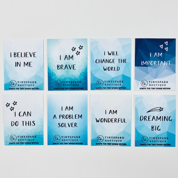I BELIEVE IN ME - Inspirational Stickers for kids