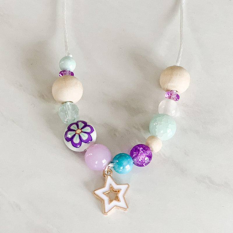 Necklaces for Girls - White Star
