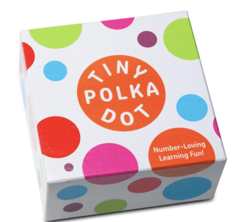 Tiny Polka Dot Math Cards