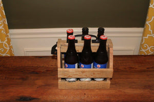 The Iliff 6 Pack Beer Caddy