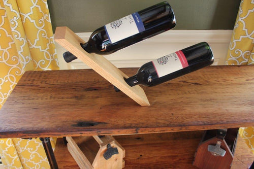 Magic Double Wine Bottle Holder