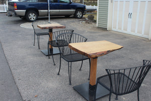 Pair of Sassafrass Bistro Tables