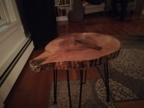 Spalted Maple Occasional Table
