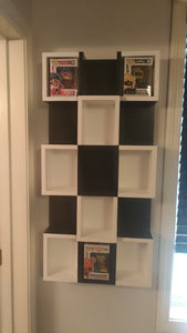 Custom Memorabelia Shelving Unit