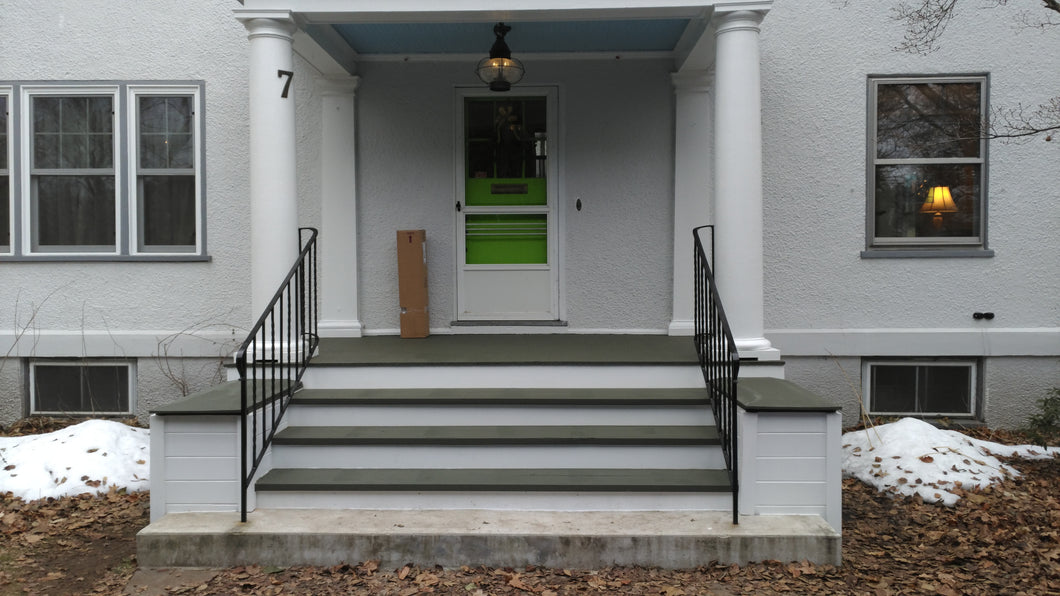 Restore 1904 Porch, Worcester MA