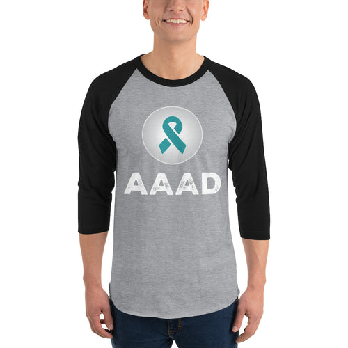 AAAD Logo 3/4 Sleeve Shirt