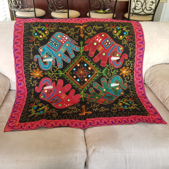 Indian Elephant Tapestry Handmade - Olafo's