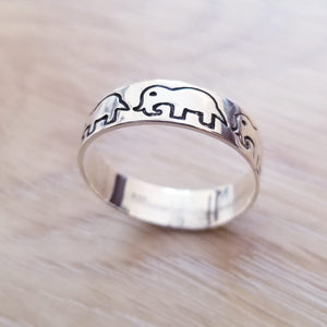 Thai Elephant 925 Sterling Silver Ring - Olafo's