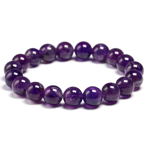 Natural Amethyst Purple Bracelet - Olafo's