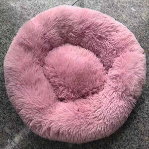Dog Cat Pet Plush Donut Super Soft Fluffy Bed - Olafo's