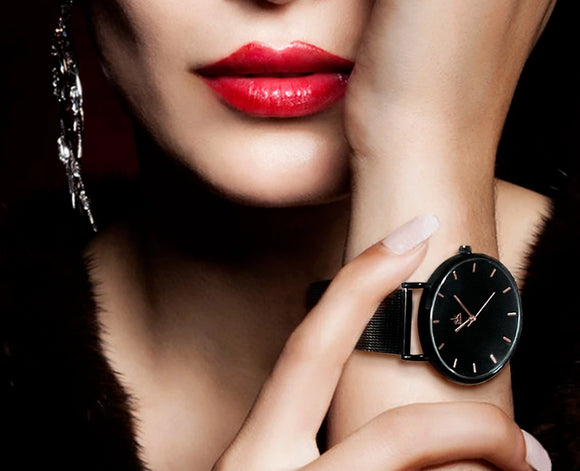 Ultra Thin Watch Quartz Movement for Women - Olafo's