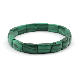 Malachite Natural Stone Beads Bracelet - Olafo's