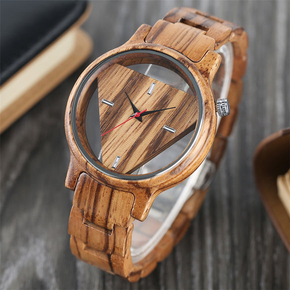 Novel Casual Handmade Bamboo Watch - Olafo's