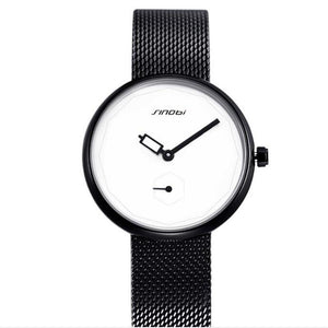 Watches Black & White Women's Watch - Olafo's