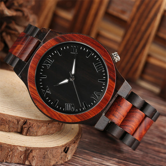 Handmade Full Bamboo Quartz Men's Watch - Olafo's