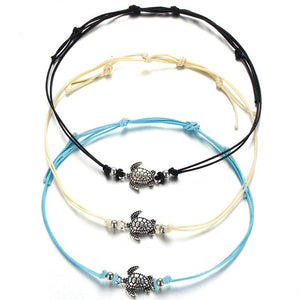 Vintage Multiple Layers Sea Turtle Anklets - Olafo's