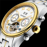 GUANQIN Automatic Luxury Waterproof Sports Watch Tourbillon Mechanism - Olafo's