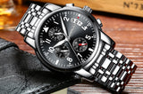 Casual Waterproof Men's Watch with Chronograph - Olafo's