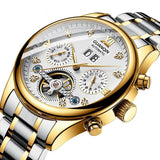 GUANQIN Automatic Waterproof Luxury Watch Tourbillon Movement - Olafo's