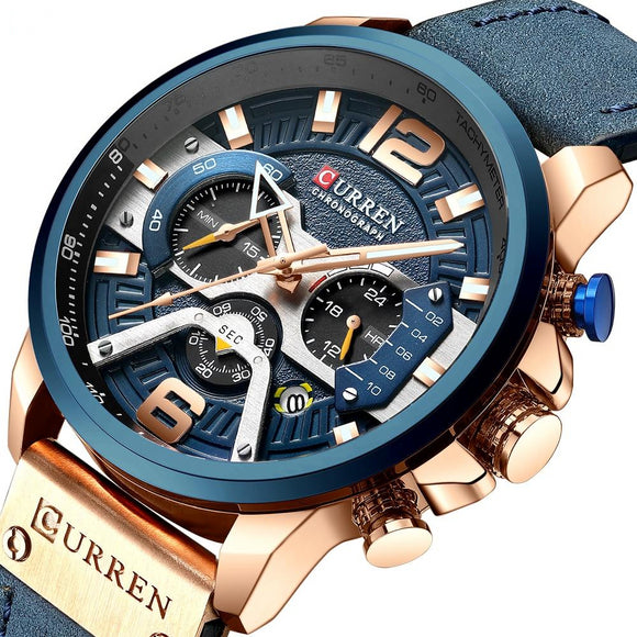 Casual Sports Military Precision Time Luxury Watch for Men - Olafo's
