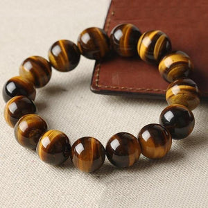 Tiger Eye Natural Stone Bracelet - Olafo's